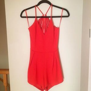 Urban Outfitters Dresses - URBAN OUTFITTERS backless romper